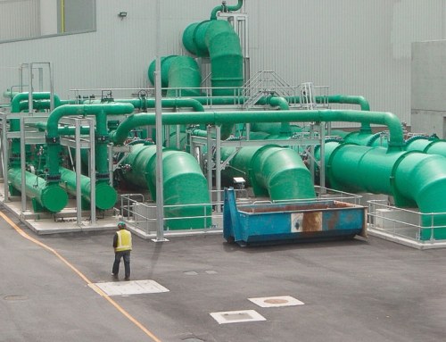 Cooling Water Pipes – Power Station